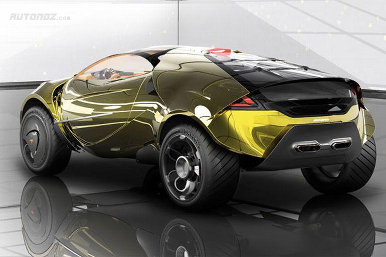 Будущее автомобильного дизайна 2020 McLaren SUV
