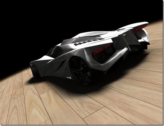 Футуристический суперкар Lamborghini Ferruccio