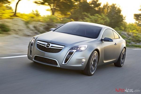 2013 Opel Calibra-Basic в стиле концепта GTC