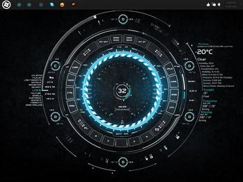 3D интерфейс (в стиле Тони Старка) для разработки ракеты SpaceX