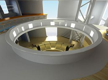 Aircruise концепция дирижабля будущего