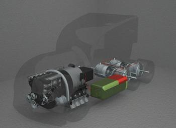 Atropos - аэродинамический гибридный грузовик будущего