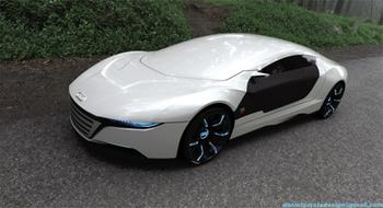 Audi A9 концепт люкс класса