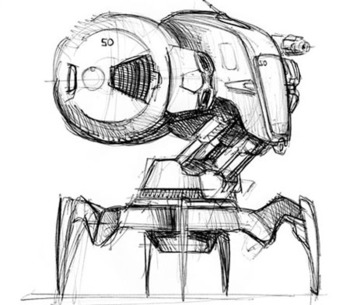 C.R.A.B. Робот полицейский будущего