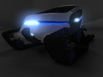 CARV Горноспасательный автомобиль будущего