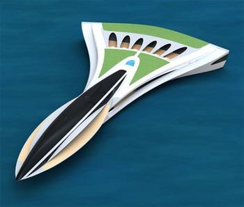 Concorde концепция яхты