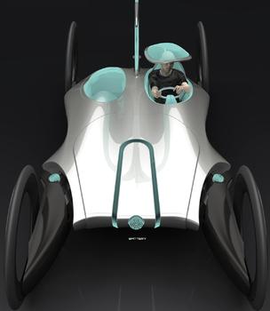 E-commuter электрический концепт-кар