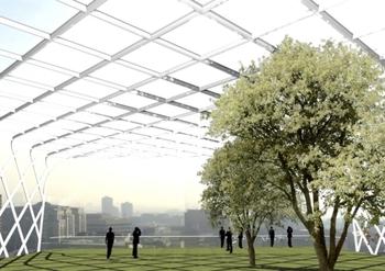 Эко архитектура в Лондоне