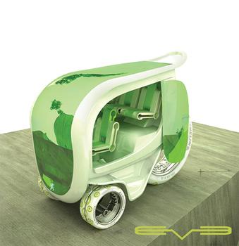 Eve электрический персональный автомобиль