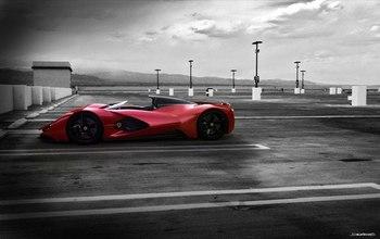 Ferrari Aliante концепт кар от Arunkumar Shanmugam