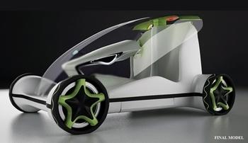 Футуристический био-транспорт 2030 года