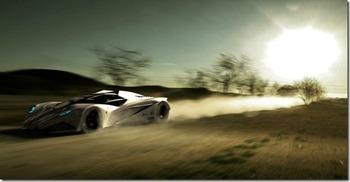 Футуристический суперкар Lamborghini Ferruccio (Фото- Видео)