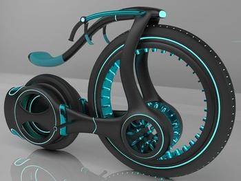 Гибридный мотоцикл от дизайнера Хасан Дэвид Даля