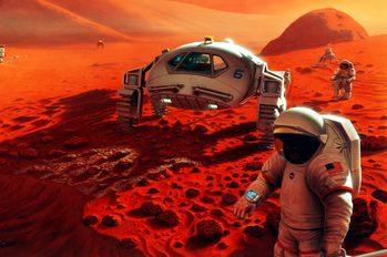 Путешествие на Марс производство топлива на красной планете