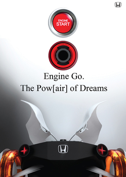 Honda Air агрессивный автомобиль будущего