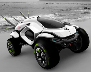 Hussar Dakar Rally концепция автомобиля