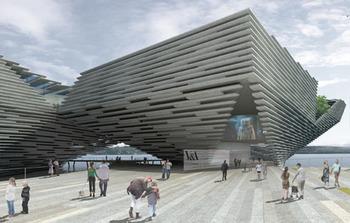 Kengo Kuma смелый и амбициозный дизайн музея V&A