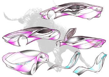 Концепт аэродинамического автомобиля