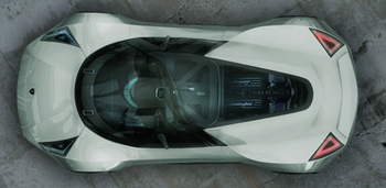 Концепт Lamborghini Insecta для экстремальных гонок