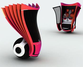 Metrotopia 2-местный электрический транспорт будущего