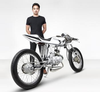 Мотоцикл Гефест - творение дизайнеров из Bandit9