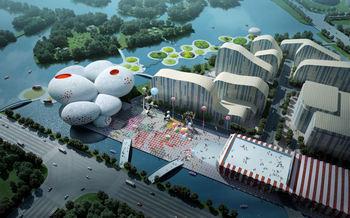 MVRDV первое место в конкурсе для китайского музея комиксов и анимации