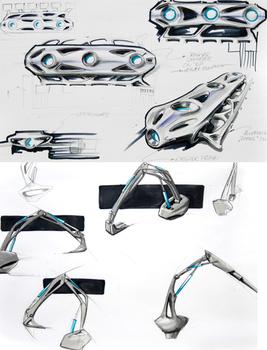 NEXO концепция снегоуборочной машины