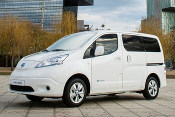 Nissan E-NV200 Концепция будущего