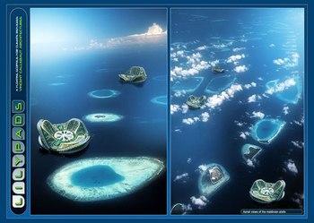 Плавающие города будущего