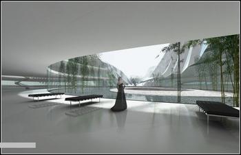 Проект конференц-центра в Тайчжуне (Китай)