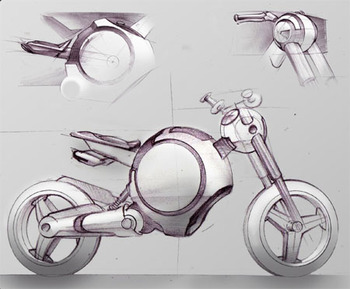 Rae Motorbike