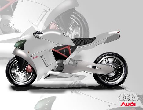 RB-1200 S спортивный мотоцикл Audi