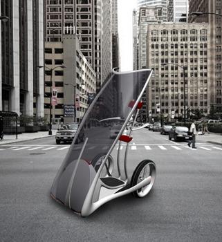 Слайд - Городской автомобиль будущего