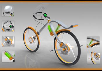 Styling концепция велосипеда