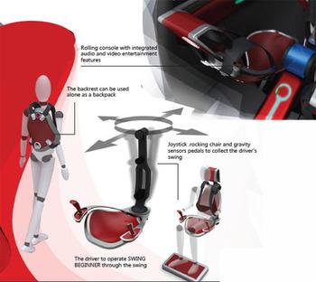 Swing Beginner футуристический автомобиль для водителей новичков