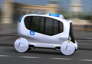 TAXI BP Концепция будущего такси Будапешта - Даниэль Рупперт