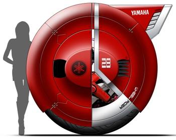 The Wheel Rider концепция личного транспорта