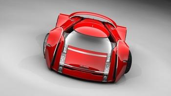 UBO концепт спортивного автомобиля
