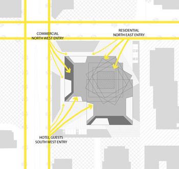 UP экологический концепт здания будущего