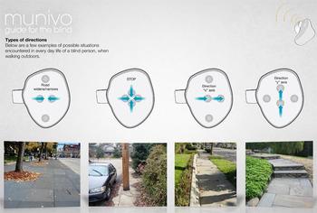 Устройство Munivo поможет передвигаться для слабовидящих людей с помощью рук