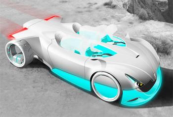 Versa-Quatic футуристический концепт-кар вдохновленным морской жизнью