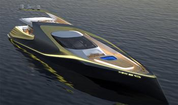 X-Sym 125 яхта с асимметрично эксклюзивным дизайном S-Move