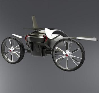 YEE летающий автомобиль вашей мечты